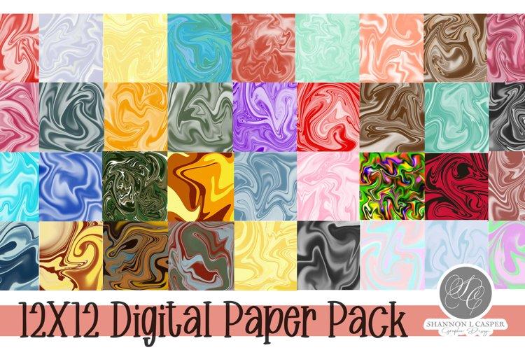 Digital Paper Bundle  12 X 12  Digital Pack