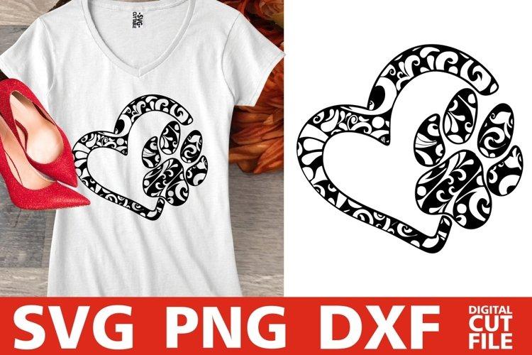Download Heart Dog Mandala Svg Dog Svg Mandala Dog Svg Vector Paw 352427 Cut Files Design Bundles