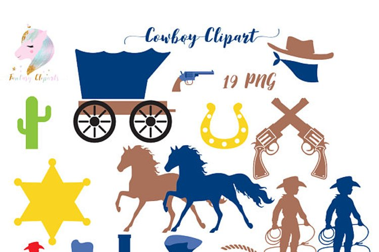 Cowboy Clipart example image 1