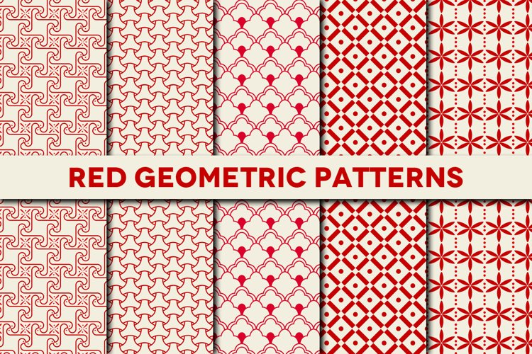 Reg Geometric Patterns - Photoshop Pack