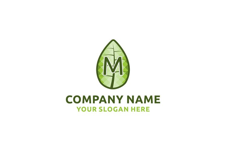 initial logo L leaf healthy Graphics Logos example image 1