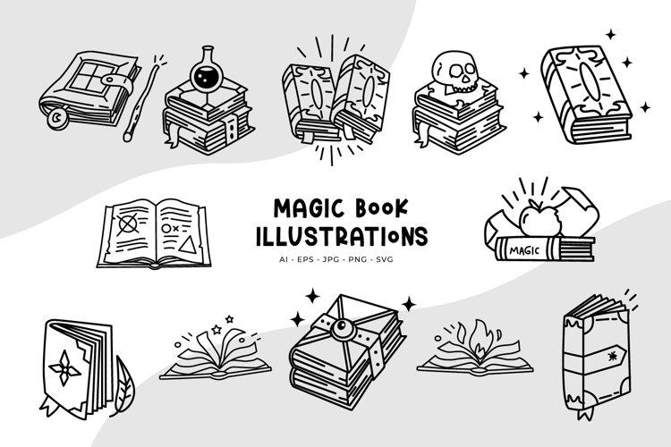 Magic Book Illustrations