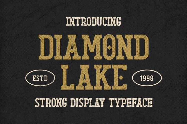 Diamond Lake - Strong Display Typeface example image 1