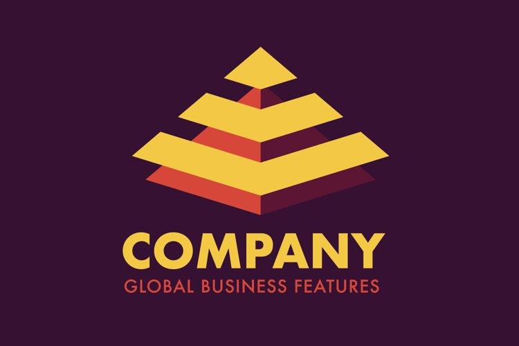 Pyramid Business Logo example image 1