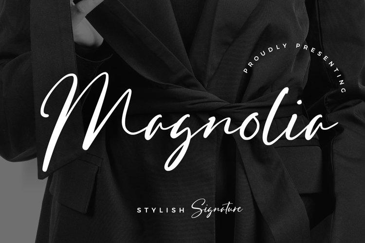 Magnolia Stylish Signature example image 1