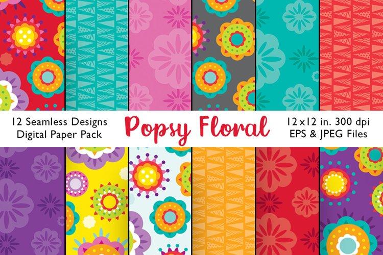 Seamless Floral Patterns, Floral Patterns, Digital Paper