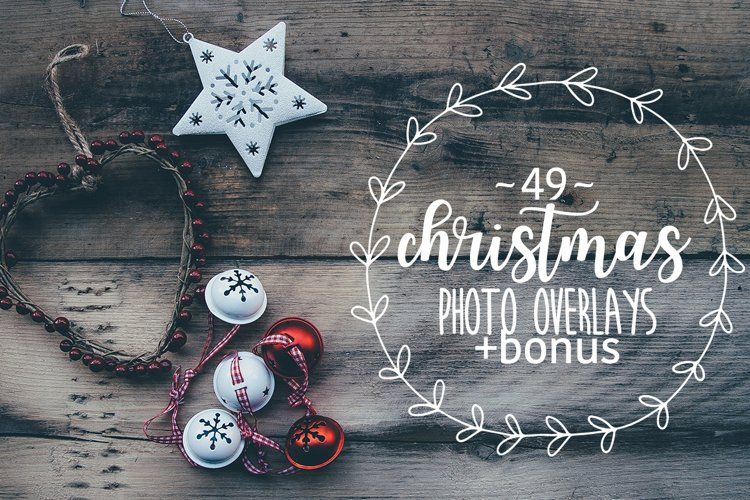 49 Christmas photo overlays example image 1