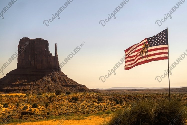 Monument Valley in Arizona. Navajo reservation example image 1