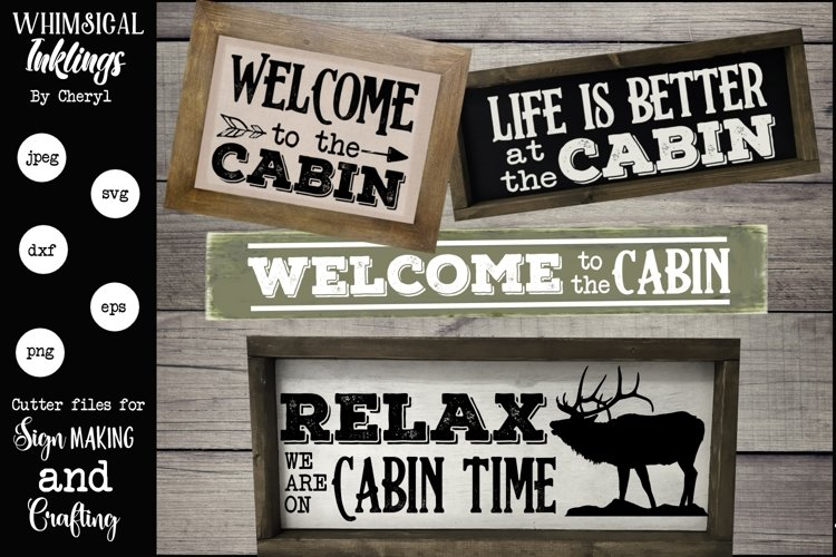Cabin Time SVG example image 1