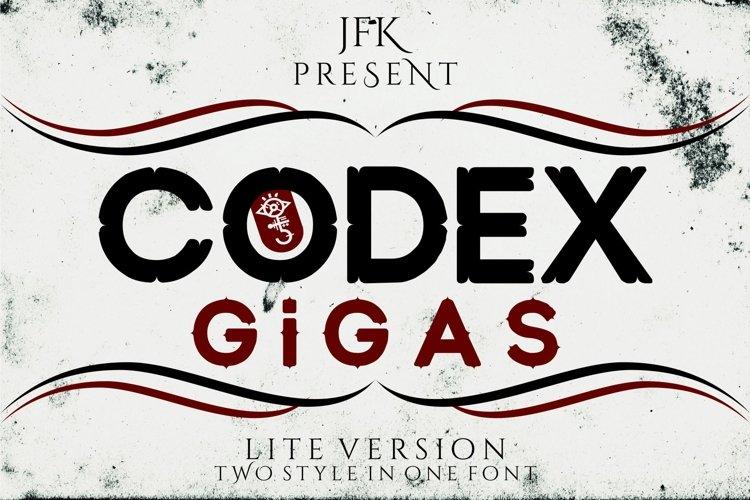 Codex Gigas (lite) example image 1