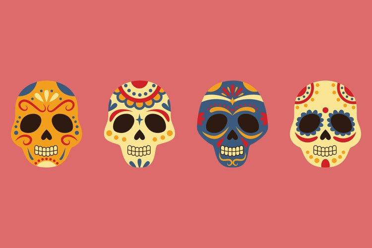 Sugar Skull Illustrations example image 1