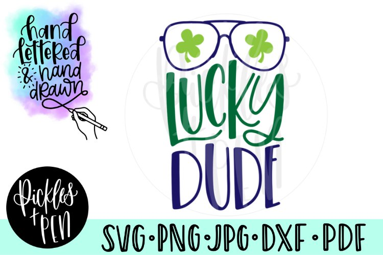 Lucky Dude - Aviator Sunglasses SVG