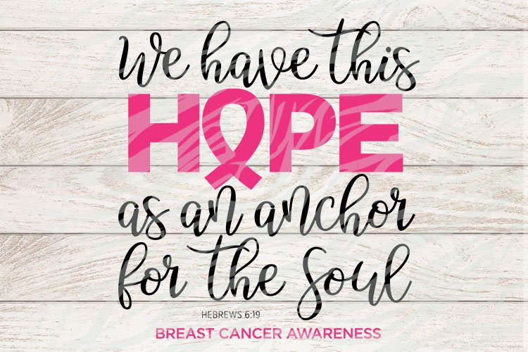We have this hope as an achor for the soul example image 1