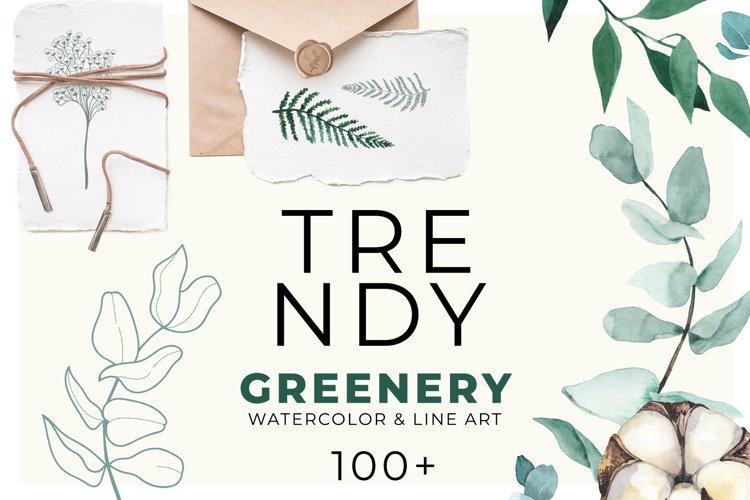 TRENDY GREENERY example image 1
