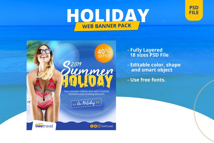 Holiday Banner Pack example image 1