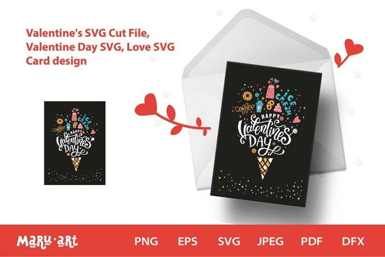 Valentines Card Quotes. Valentine Day SVG, Love SVG example image 1