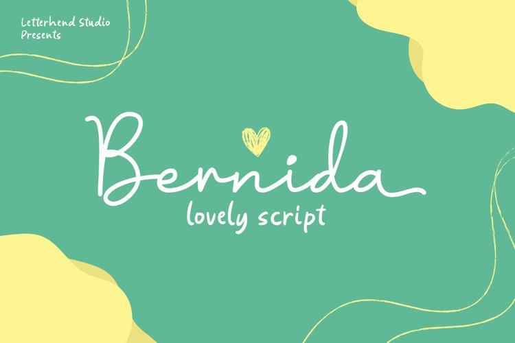 Bernida - Lovely Script example image 1