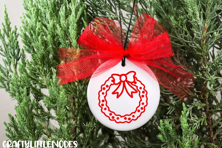 Mini Christmas Bundle - Hand lettered SVG Cut Files example 1