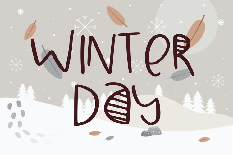 winter day example image 1