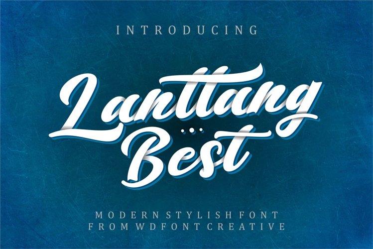 Lantang Best | Modern Stylish Font