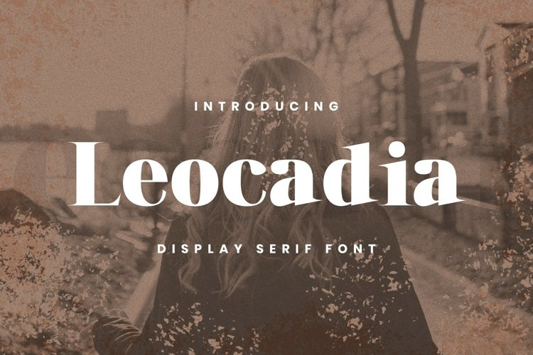 Leocadia Font example image 1