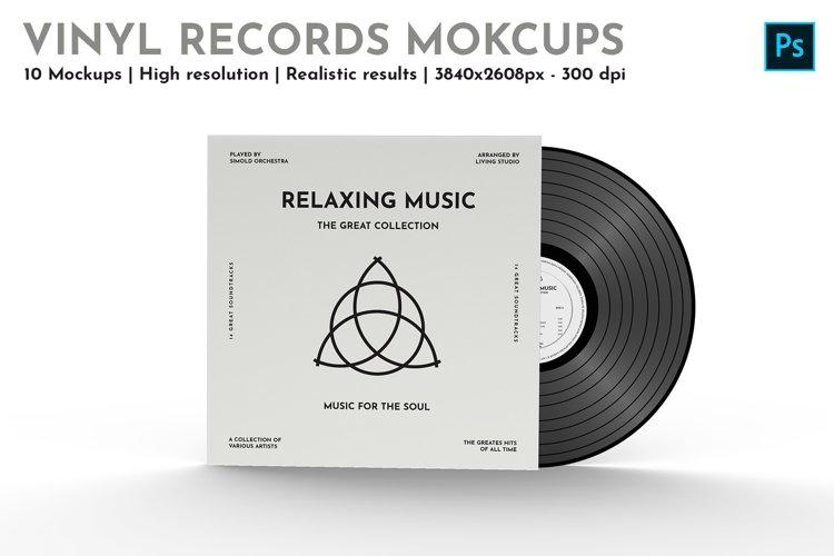 Vinyl Records - 10 Mockups example image 1