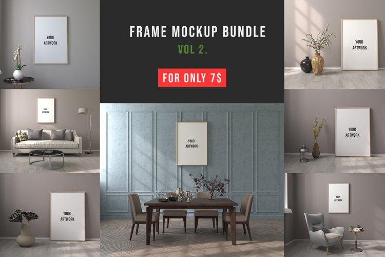 Frame Mockup Bundle Vol. 2