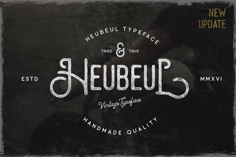 Hebeul Vintage Typeface example image 1