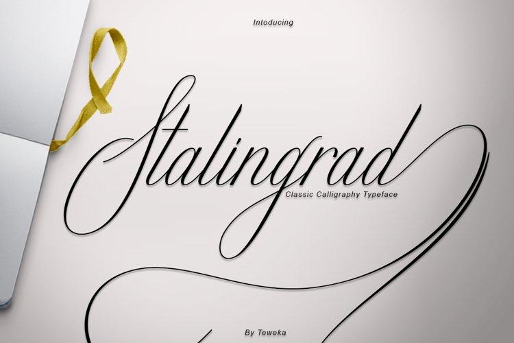 Stalingrad Classic Calligraphy