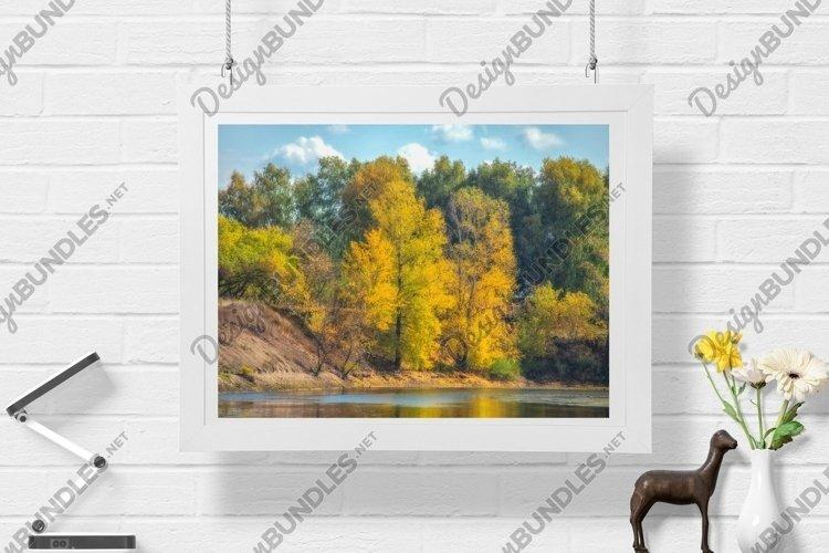 Autumn trees - Wall Art - Digital Print - Home Decor example image 1