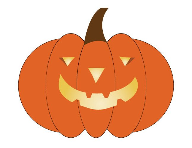 Pumpkin Cut Files, Fall SVG, Cricut Files, Silhouette Files Svg,Dxf,Png,Jpg,Eps vector file example image 1