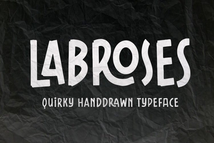 Labroses Quirky Typeface example image 1