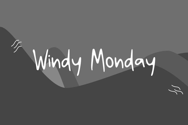 Windy Monday example image 1