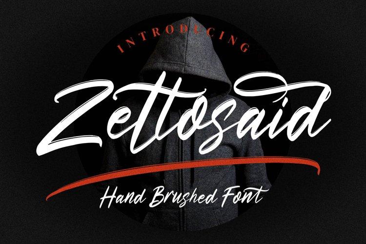 Zettosaid example image 1