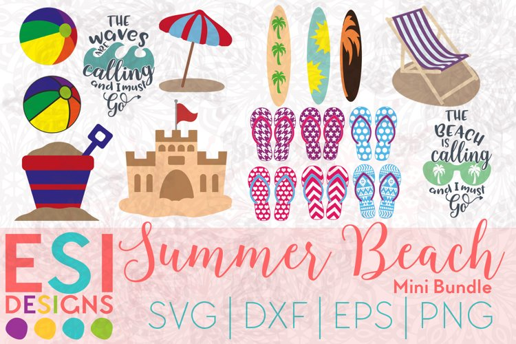 Beach SVG | Summer SVG| Bundle SVG| SVG, DXF, EPS & PNG example image 1