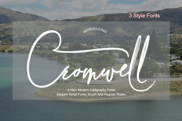 Cromwell 3 Fonts example image 1