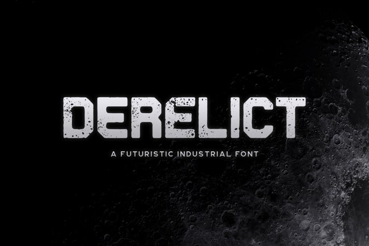 Derelict Typeface example image 1