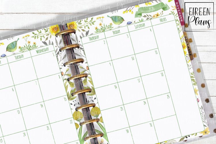 2021, 2022, 2023, 2024, 2025 Monthly - Classic Happy Planner