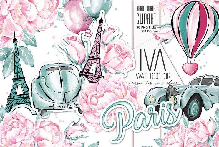 Valentines day Clipart, Paris Clipart, BUGATTI Clipart