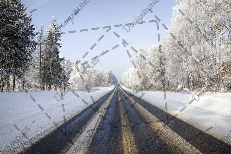 wide asphalt road example image 1