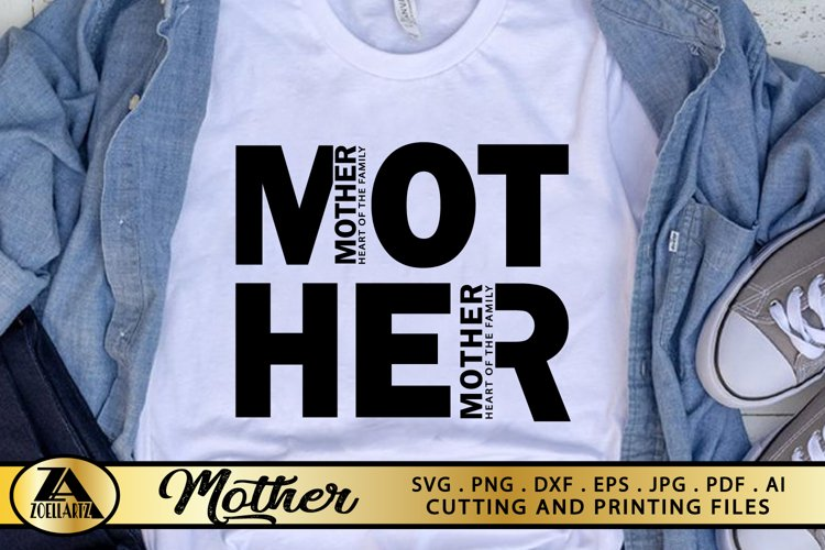 Mother SVG Mothers Day SVG Mom Life SVG Mommy Quotes SVG example image 1