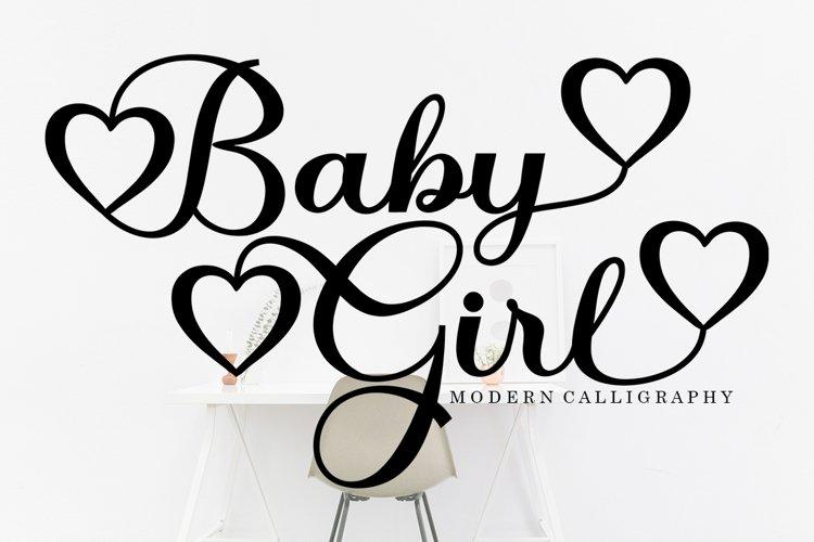 Baby Girl Script example image 1