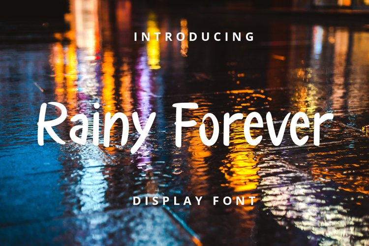 Rainy Forever example image 1