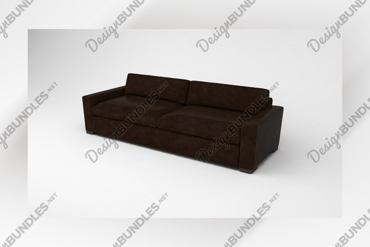 modern Luxury sofa side view furniture example image 1
