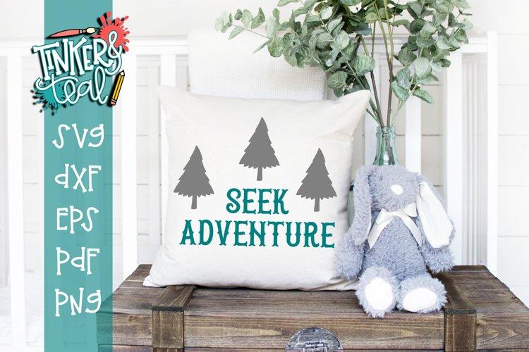 Seek Adventure Nursery SVG example image 1