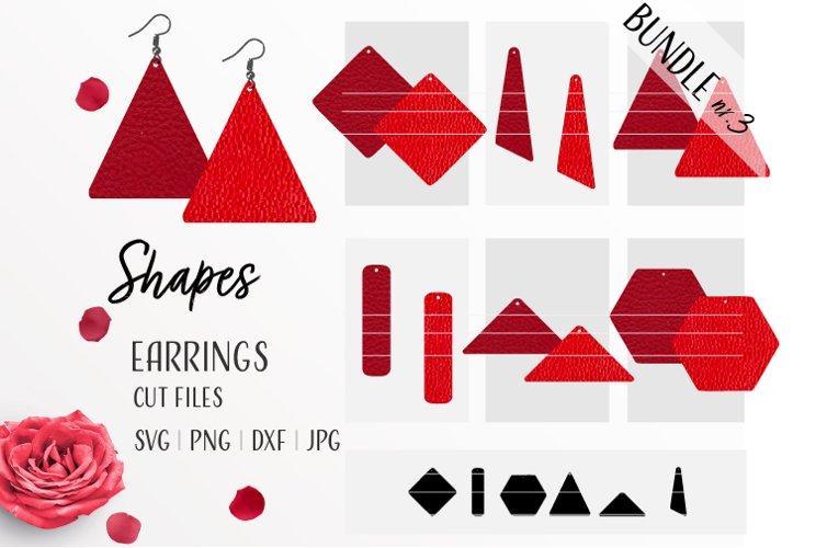Earrings Bundle Svg / Leather / Faux / Wood / Cut