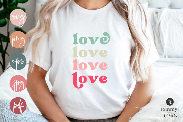 Love | SVG | Sublimation | Cut File for Cricut