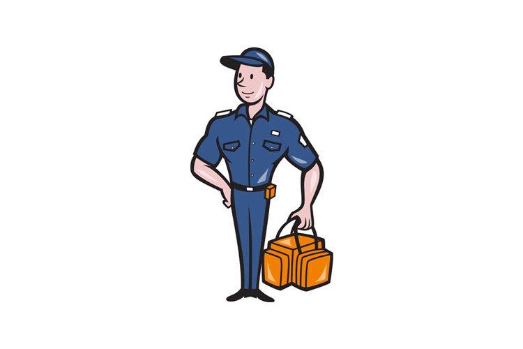 Emergency Medical Technician Paramedic EMT Cartoon example image 1