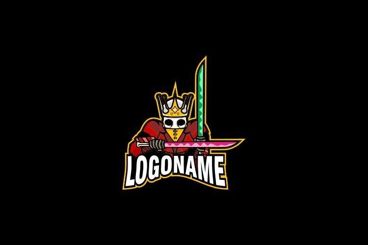 King Skull Esports Logo Design example image 1