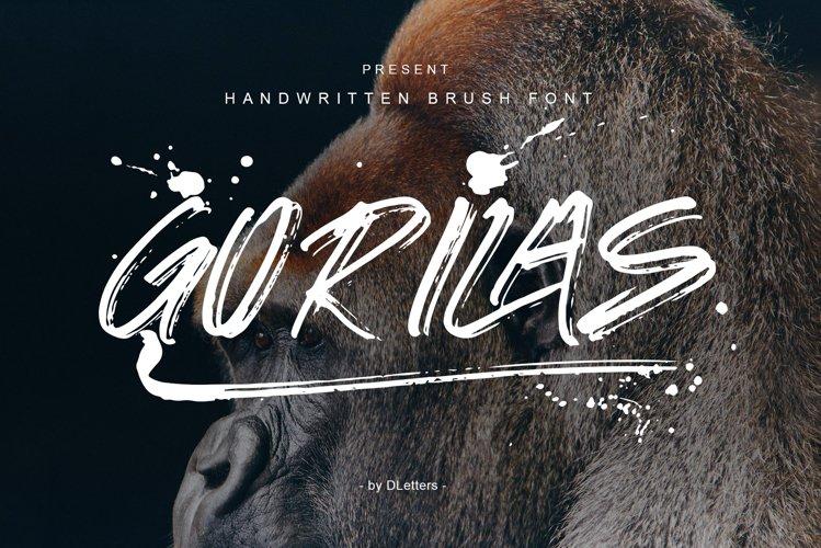 GORILAS Hand Brush example image 1